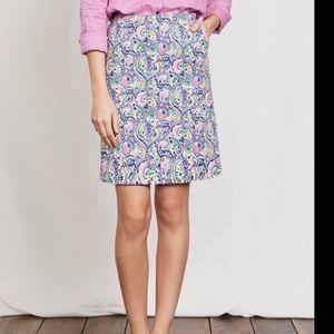 Boden Paisley Skirt 10